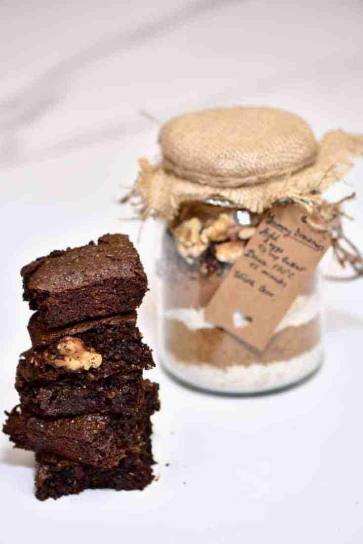 Gluten Free Brownie in a Jar Recipe
