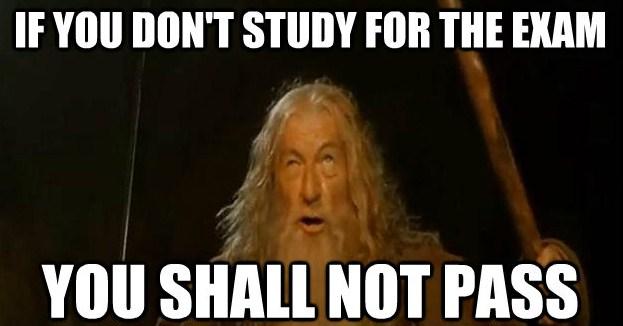 Funny Exam Meme