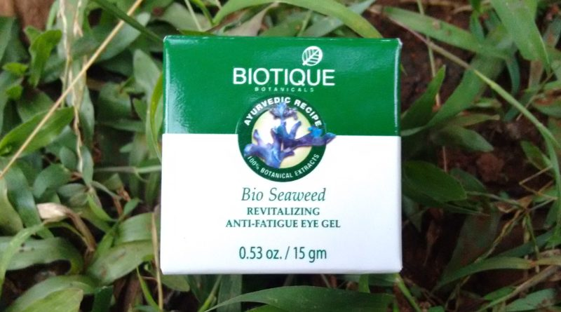 Biotique Bio Seaweed Revitalizing Anti Fatigue Eye