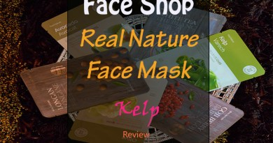 The Face Shop Kelp Mask Review