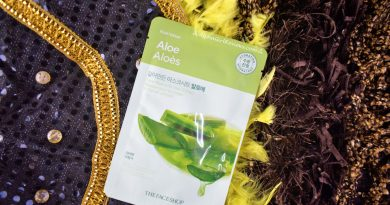The Face Shop Aloe Mask Review