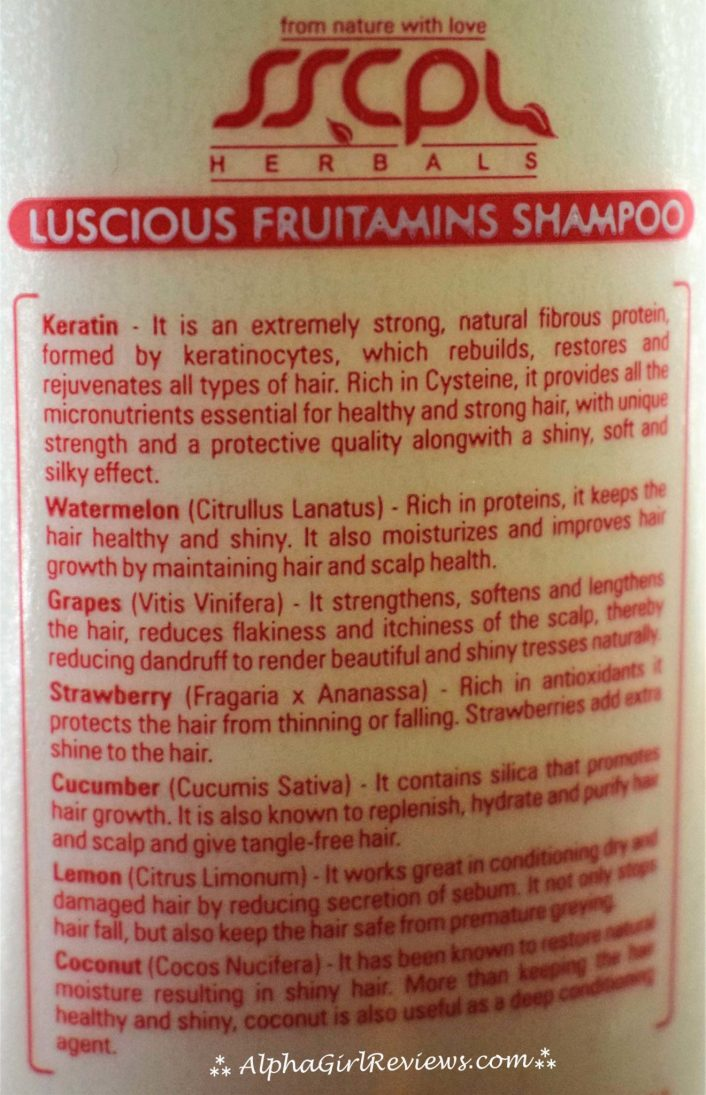 SSCPL Herbals Luscious Fruitamins Review
