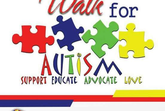 Walk for autism!