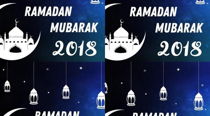 Nawatakieni Ramadhan njema!