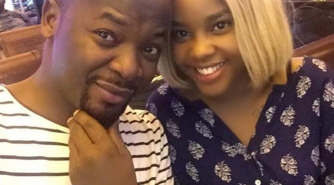 Mungu azidi kuwa nanyi, soon to be Mr and Mrs Majizzo!