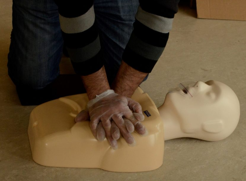 Emergency First Aid & CPR Level C HCP January Courses