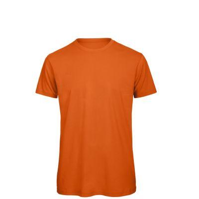 T-shirt maniche corte lavoro uomo colore arancio