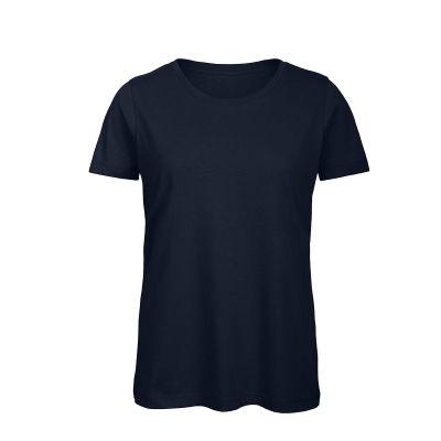 T-shirt maniche corte lavoro donna colore blu