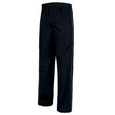 Pantalone unisex colore nero-pistacchio