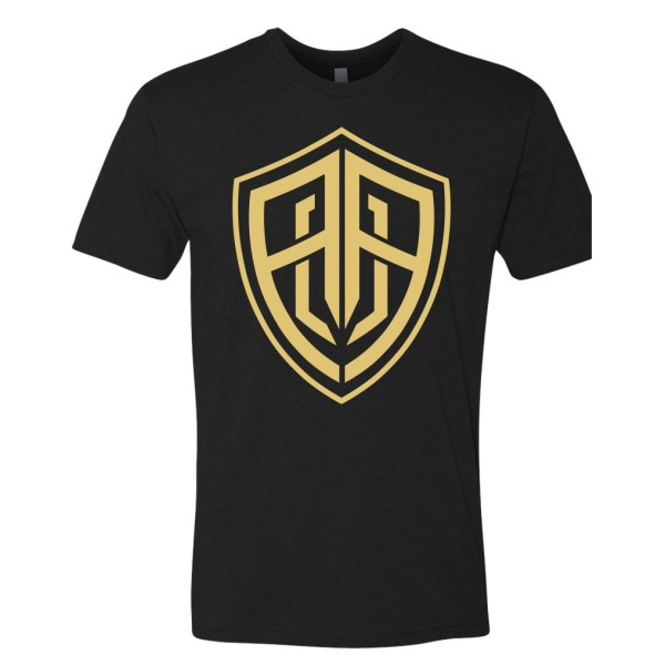 Black Gold Front T Shirt