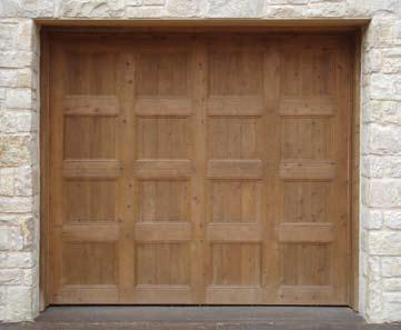 Wood Garage Door 10
