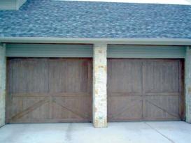 Wood Garage Door 12