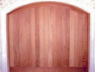 Wood Garage Door 15