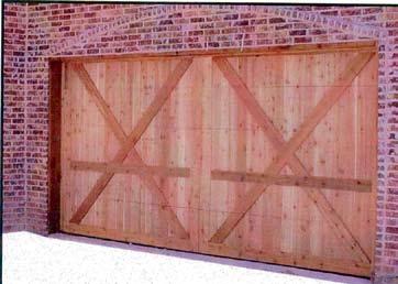 Wood Garage Door 3