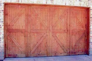 Wood Garage Door 8