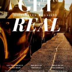 Get Real Lifestyles Magazine-Style Newsletter Cover