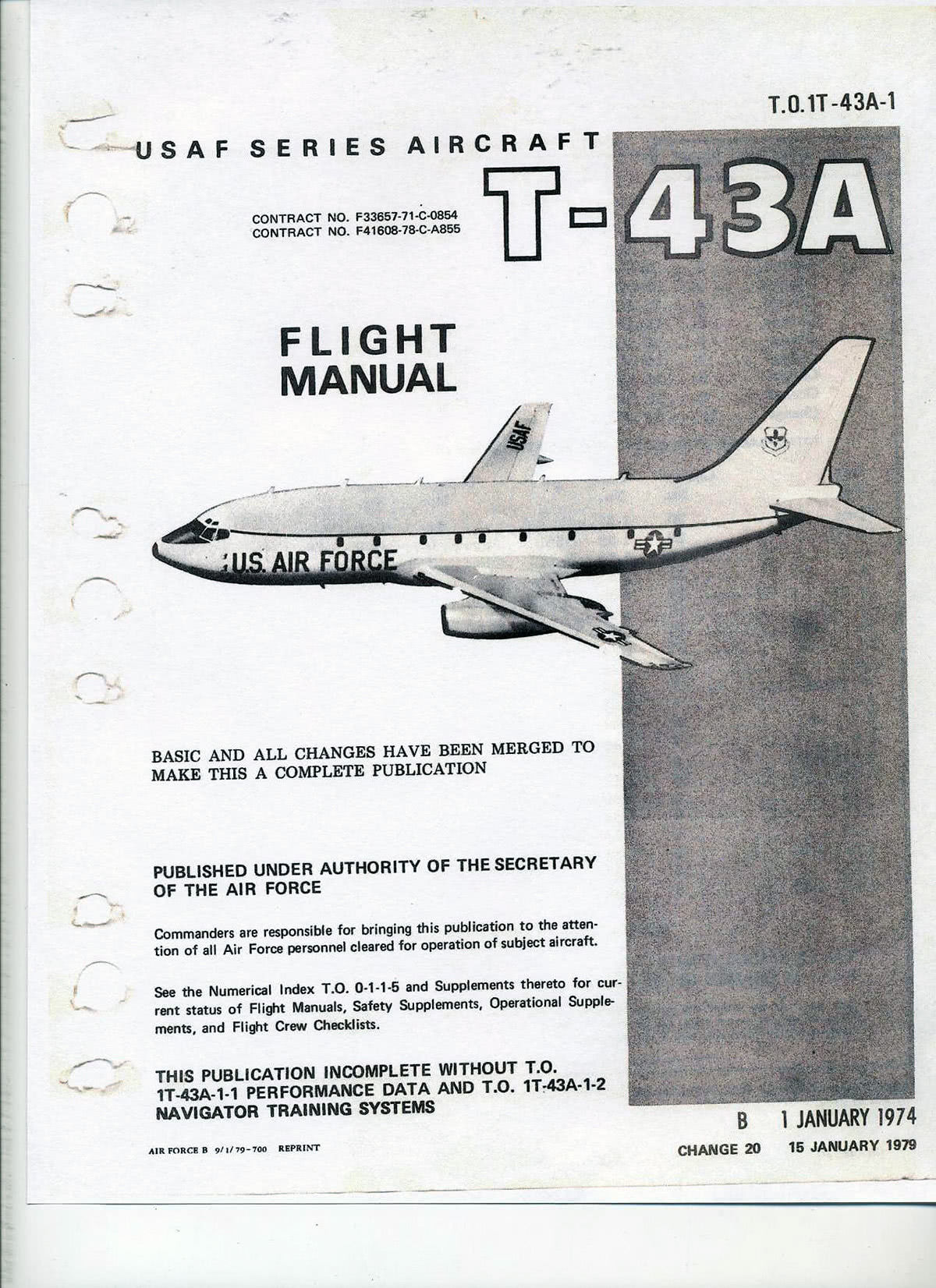 Flight Manual.