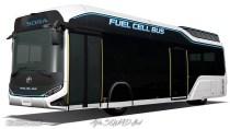 TOYOTA SORA Fuel Cell Bus – Alternative of TOYOTA COASTER
