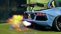 INSANE FLAMES and BRUTAL EXHAUST SOUNDS