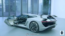 Audi PB18 e-tron Concept Car – High-performance Sports Car with Electric Drive!