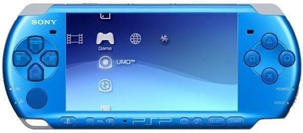 Jeux vidéo PSP bleu (Portable Playstation) avec carte Mémoire 8Go Abidjan Côte D'ivoire