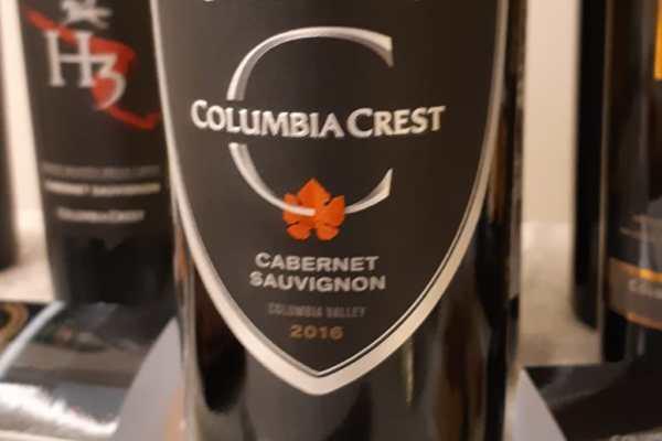 Tasting Note Columbia Crest Grand Estate Cabernet Sauvignon 2016