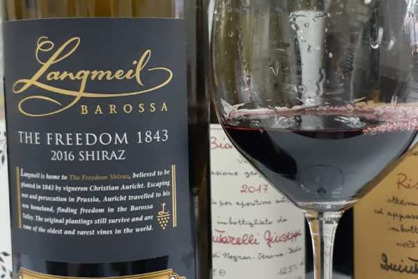 Tasting note Langmeil Winery 'The Freedom 1843' Shiraz 2016