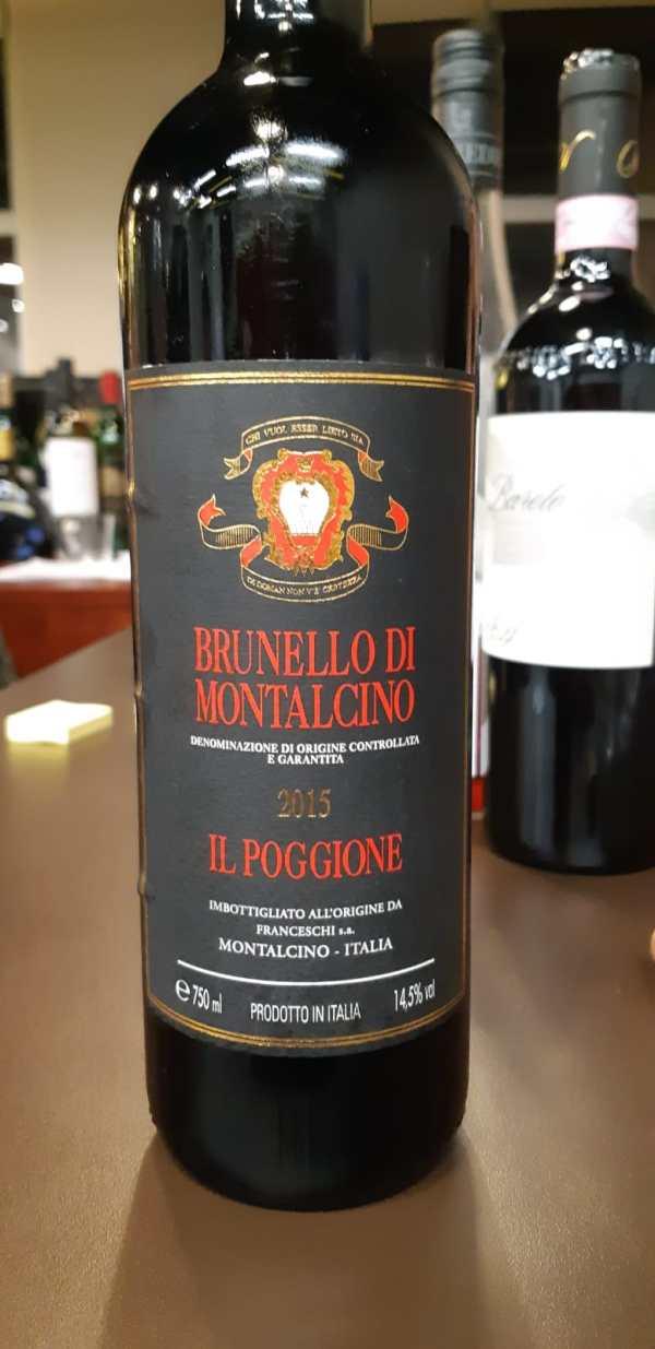 Tasting note IL Poggione Brunello Di Montalcino 2015