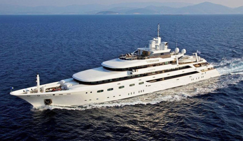 SUPER YACHT CHARTER MEDITERRANEAN OMEGAwith Full Water Toys Alpha Yachting