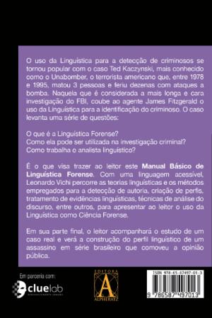 Manual Básico de Linguística Forense