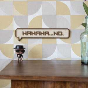 décoration murale intérieur bois pixel jeux vidéos retro gaming porte enfant chambre