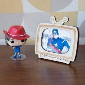 Cadre photo Télé vintage – Petit