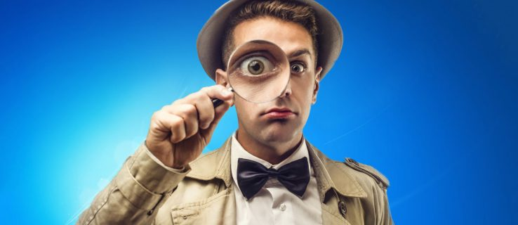 Windows Search Magnifying Glass Detective