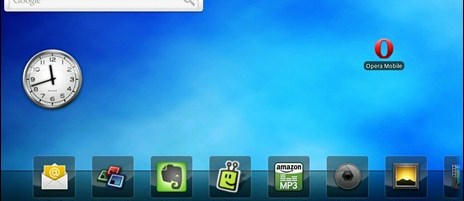 Toshiba AC100: exclusive screenshots