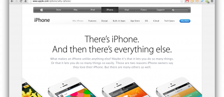 Is Apple rattled by Samsung? Let's hope so