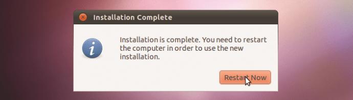 How to install Ubuntu step six