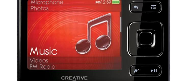 Creative positions Zen against Apple's Nano