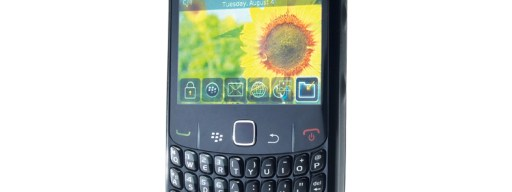 BlackBerry 8520 front