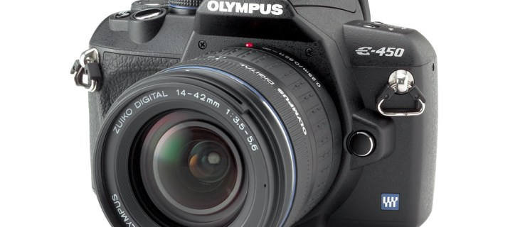 Olympus E-450 review