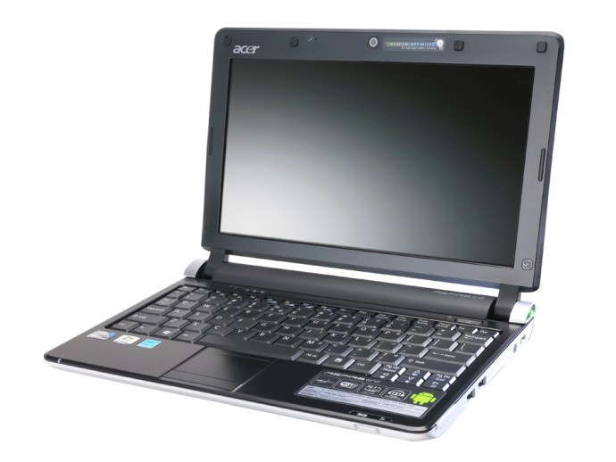 Acer Aspire Android netbook