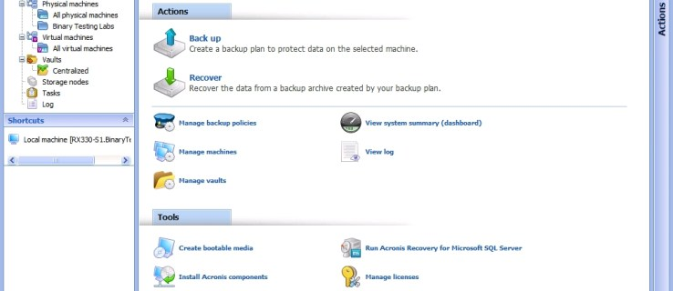 Acronis Backup & Recovery 10 review