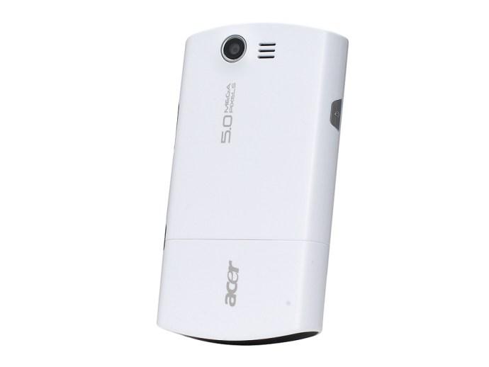 Acer Liquid rear
