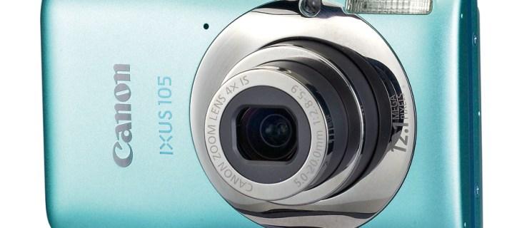 Canon Ixus 105 review