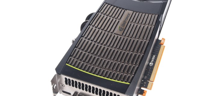 Nvidia GeForce GTX 480 review