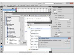 Adobe Flash Professional CS5 coding