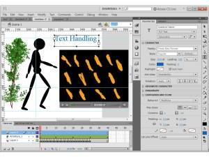Adobe Flash Professional physics engine