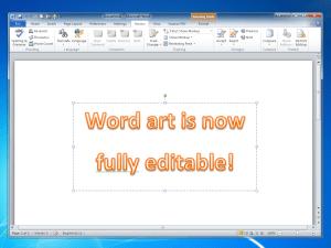 Microsoft Word 2010 - Word Art