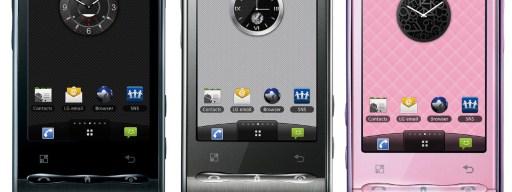 LG Optimus phones