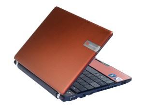 Packard Bell dot u - rear