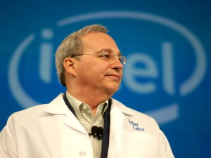 Justin Rattner donned an Intel lab coat to look far into the future of computing